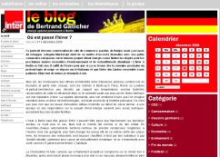 Le blog de Bertrand Gallicher
