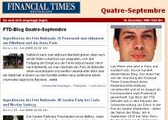 Lutz Meier : Quatre septembre