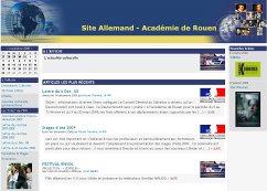 Site allemand de l'Académie de Rouen