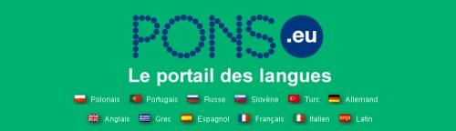 PONS Portail des langues