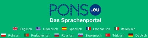 PONS Sprachenportal