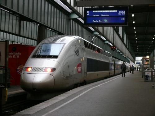 TGV: Auf nach Paris.