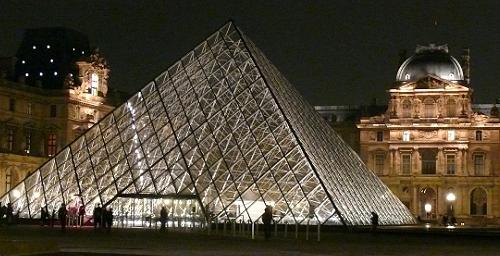 La pyramide, Paris