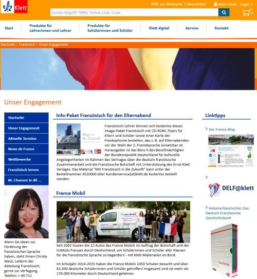 Klett Engagiert Sich Für Das Fach Französisch Das Frankreich Blog