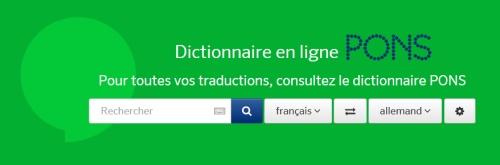 PONS Online Wörterbuch