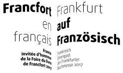 Francfort en français 2017 / Frankfurt auf Französisch