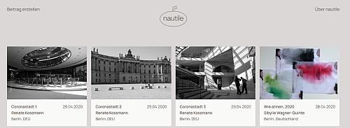 Screenshot der Plattform nautile.cc (von https://www.france-blog.info/online-die-neue-deutsch-franzoesische-plattform-nautile-cc)